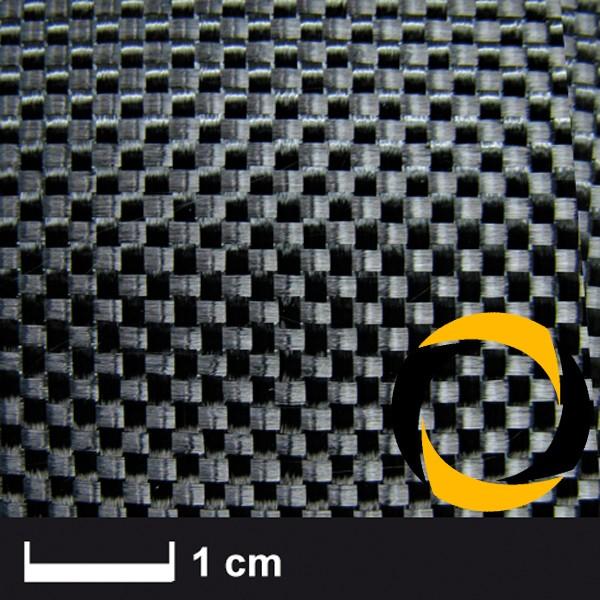 Kohlegewebe 245 g/m² (Aero, Leinwand) 100 cm